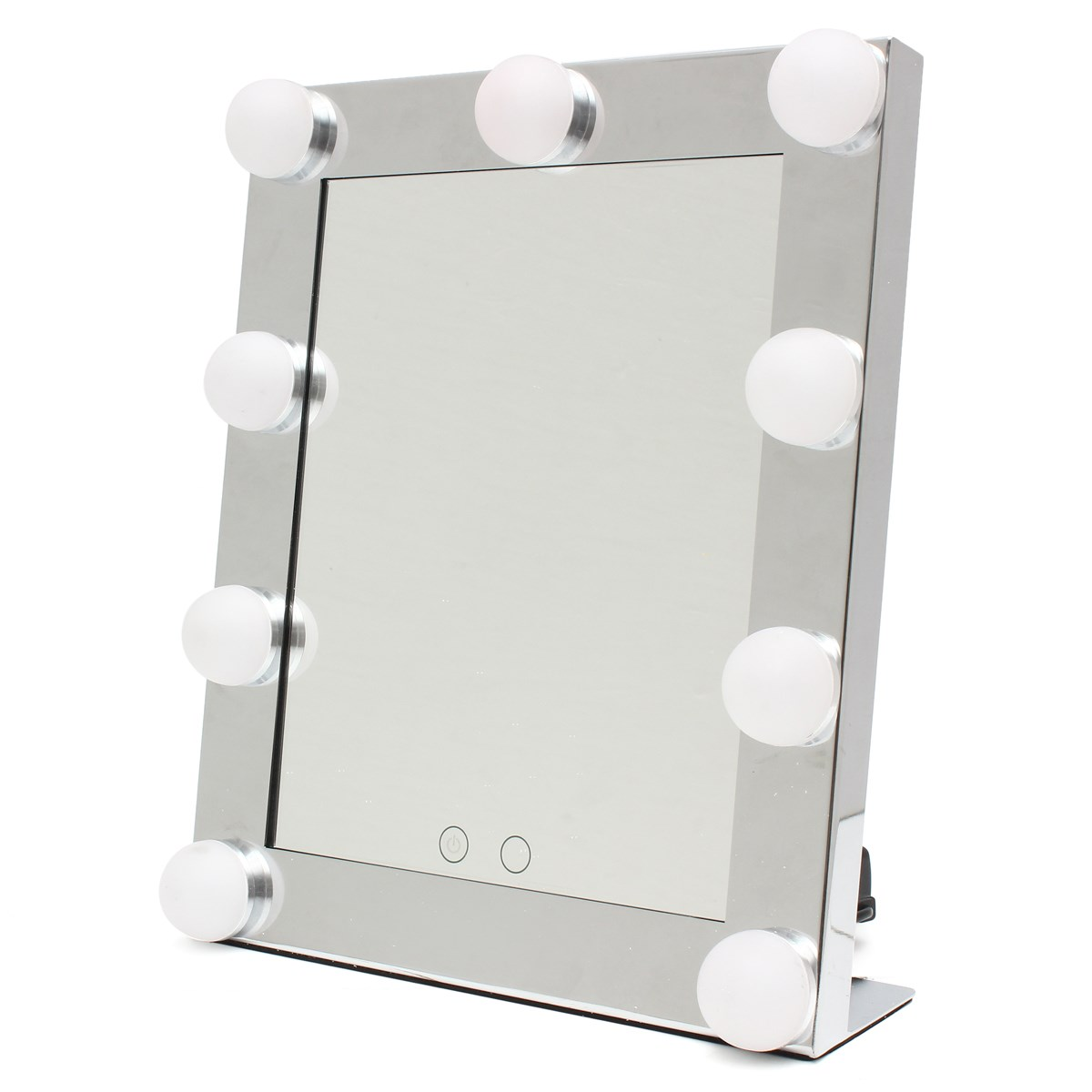 Professional LED Touch Screen Lighted Vanity Mirror Standing Table Mirrors  Large Salon Cosmetic Desktop Makeup Mirror With Light In Makeup Mirrors  From ...