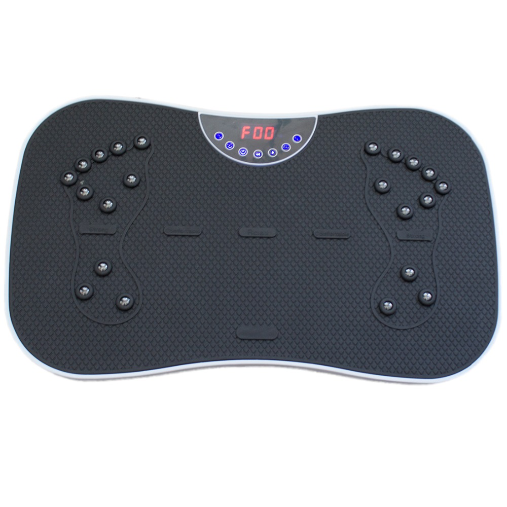 Exercise Fitness Slim Vibration Machine Trainer Plate Platform Shake+ remote control+Vibration Fitness Massager Gess