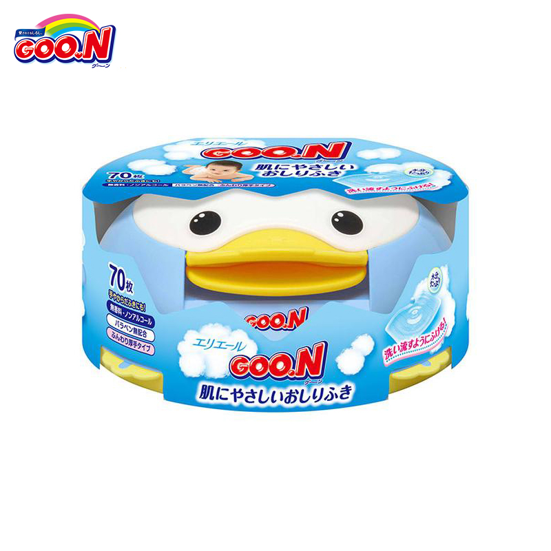 Baby Care Wet wipes Goo.n with container Goon kidwetwipes wet wipes huggies aloe ultra comfort 128 pcs baby wipes