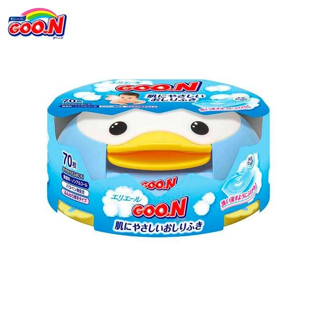 Влажные салфетки Goo.n с контейнером