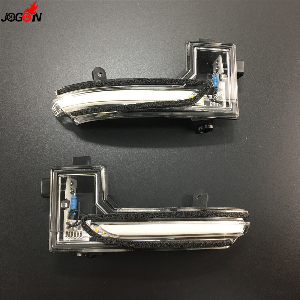 For Mazda3 Mazda 3 Axela Mazda6 Mazda 6 Atenza 2017 2018 LED Dynamic Turn Signal Blinker Sequential Side Mirror Indicator Light in Mirror Covers from Automobiles Motorcycles
