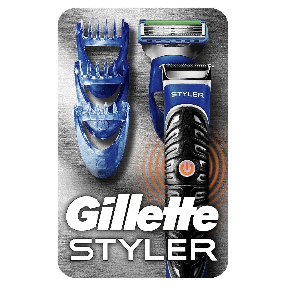 Razor Gillette Fusion ProGlide Styler Shaver Razors Machine for shaving + 3 tips