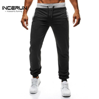 INCERUN 2017 Autumn Men's Sweatpants Casual Drawstring Fitness Workout Pants Solid Trousers Joggers Men Sportswear Slacks S-2XL