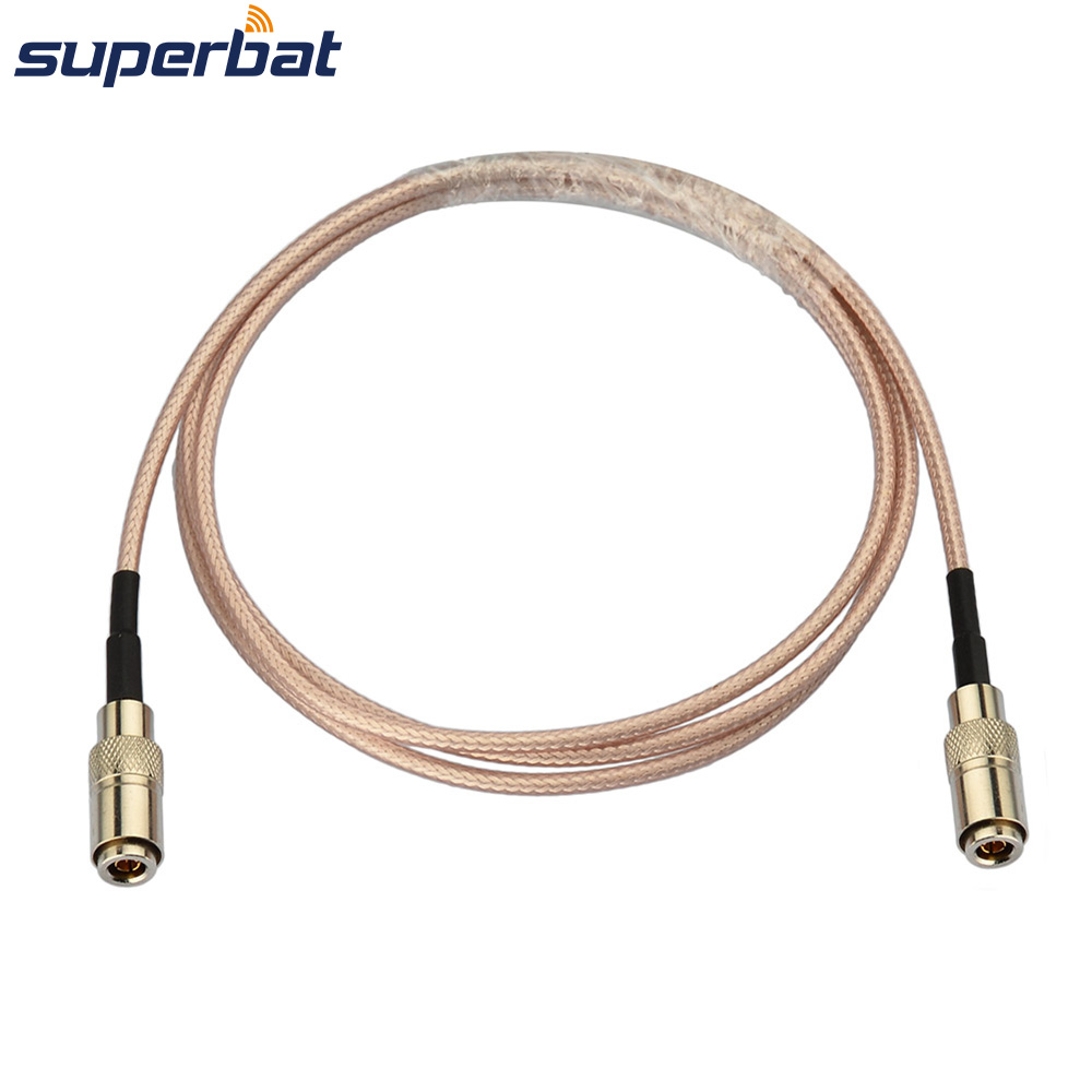 Superbat 3G/HD SDI Cable DIN 1.0/2.3 Male RG179 Adapter Cable For BMCC BMPC Blackmagic Video Assist 1M