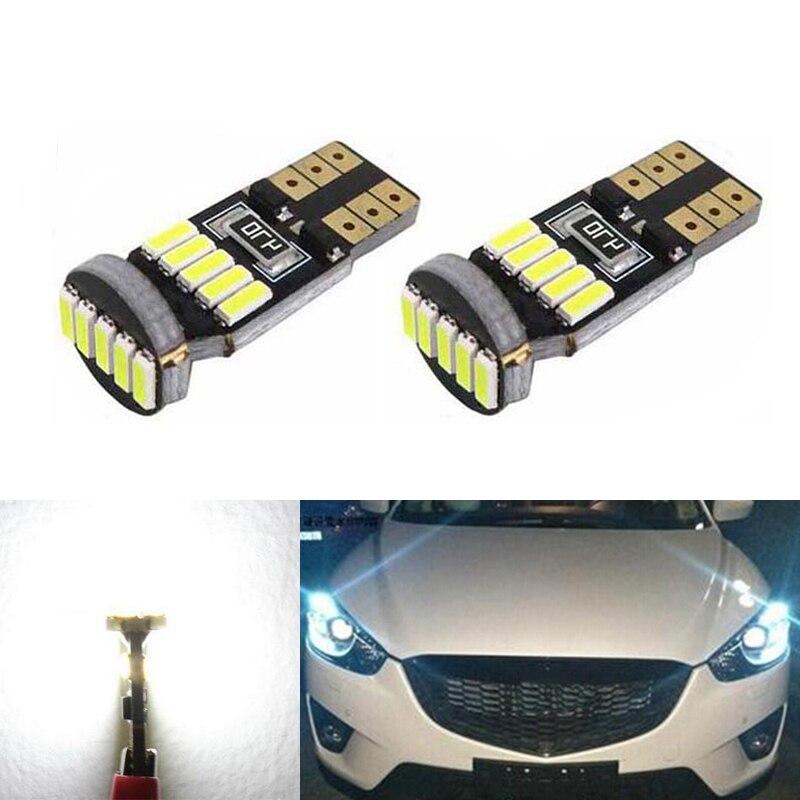 Online Shopping Mazda 323 Light: 2x T10 4014SMD LED Samsung Wedge Lights Eyebrow Eyelid