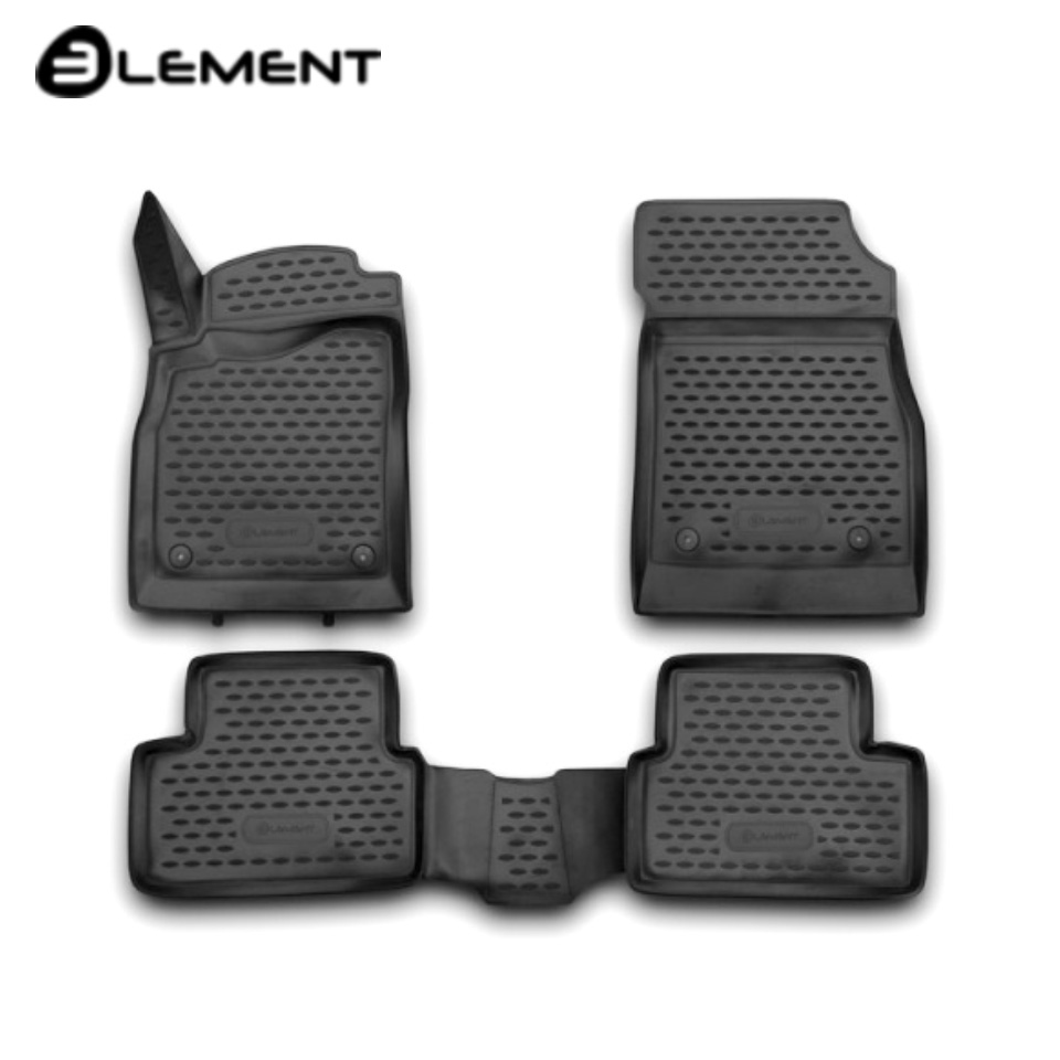 For Chevrolet Cruze 2009 2015 3D Floor mats into saloon 4 pcs/set Element NLC3D0813210K