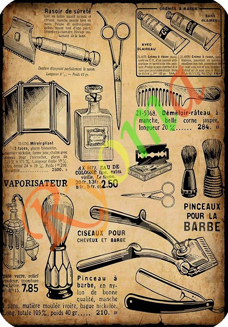 Vintage Κομμωτήριο Τατουάζ - Διακόσμηση σπιτιού - Φωτογραφία 1