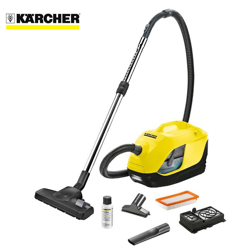 Vacuum cleaner with water filter Karcher DS 6 *EU aqua water ionizer inside carton filter