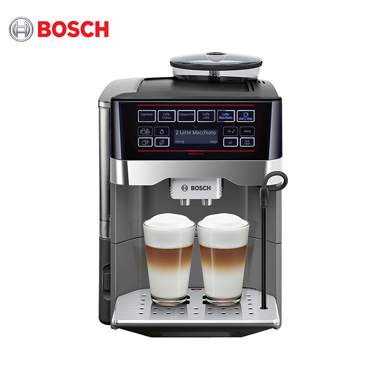Coffee machine Bosch TES60523RW coffee makers coffee maker Automatic TES 60523 bliger 40mm blue dial date coffee ceramics bezel colorful marks saphire glass automatic movement men s watch