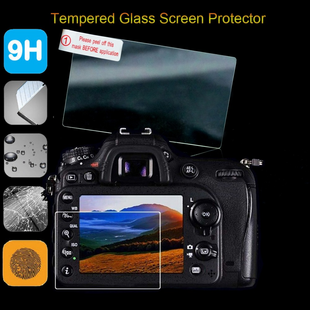9H Ultra Thin 0 26mm Tempered Glass Screen Protector For Canon EOS M EOS MII M2