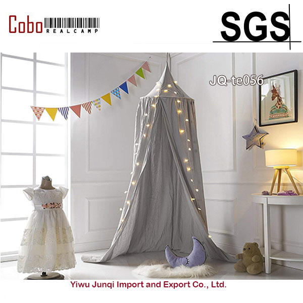 check out df3d3 fe823 US $24.73 17% OFF|Canopy Washed Cotton Cloth Round Dome Hanging Bed Play  Tent Canopy Curtains For Twin Queen Full Size Bed Kids Reading Play  Tents-in ...