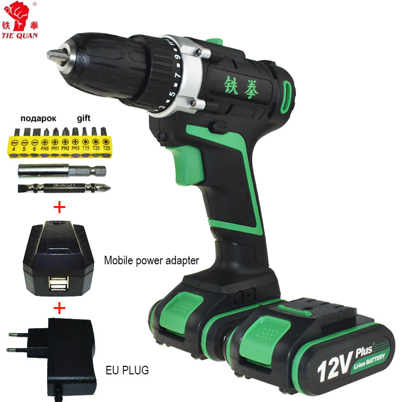 12v Cordless Drill electric Drill power tools Electric electric drilling battery drill Mini Batteries electric screwdriver 12v cordless drill electric drill electric tools mini electric drilling eu plug battery drill electric screwdriver power tools