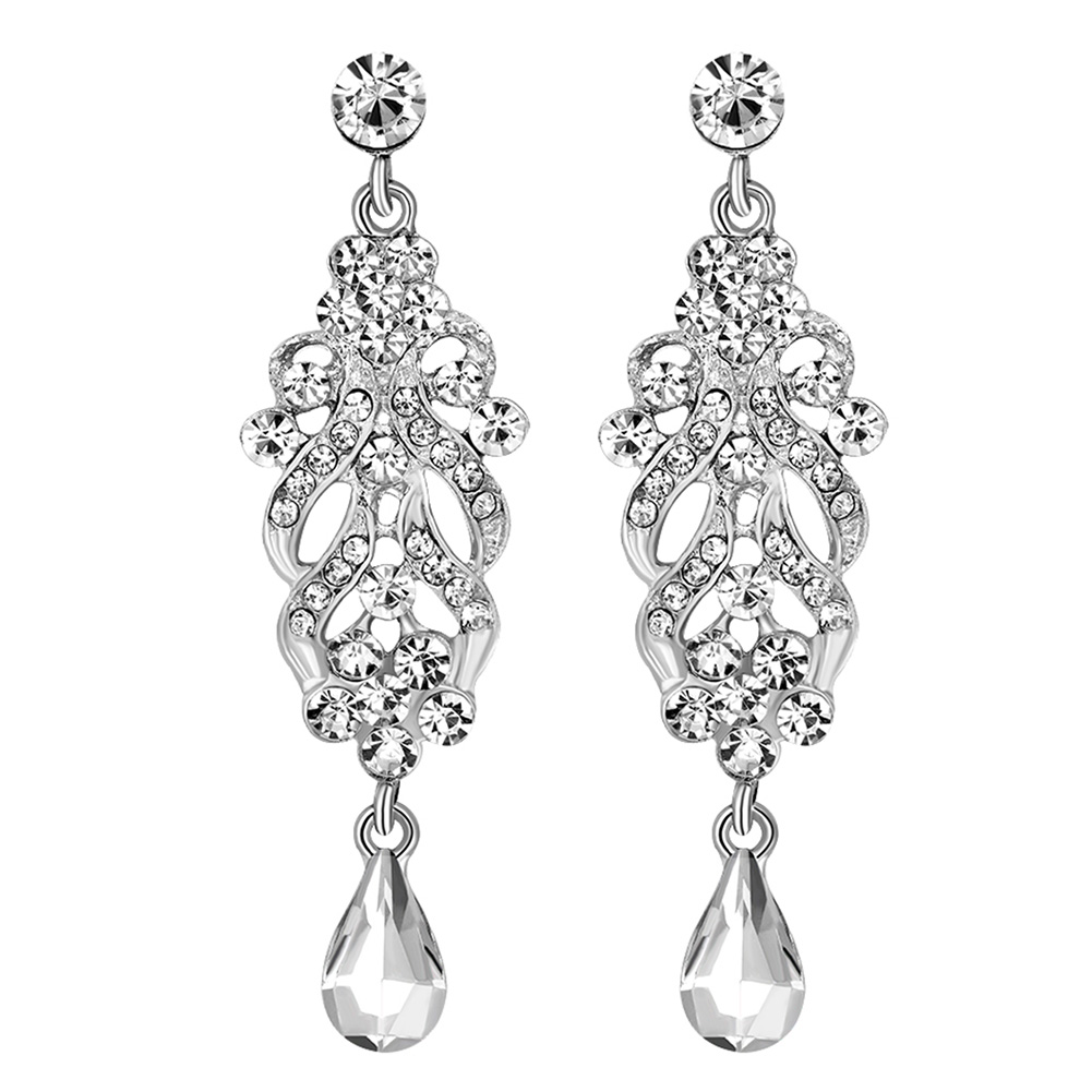 Online Whole Wedding Chandelier Earrings From China