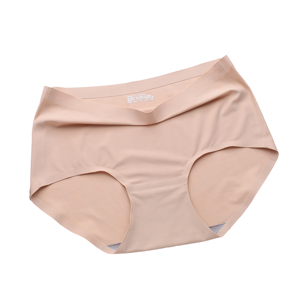 Buy Sexy Women Seamless Briefs Underwear Solid Color Breathable Knickers Panties