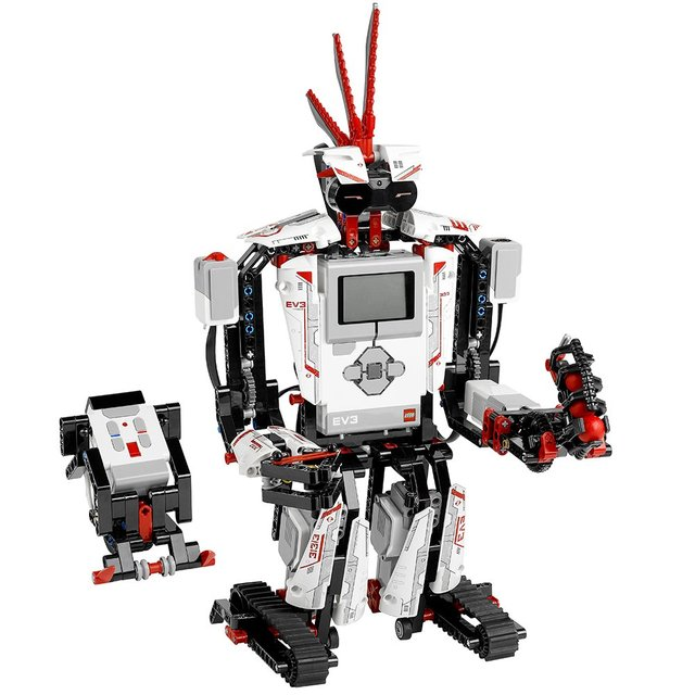 MINDSTORMS EV3 31313 Robot Kit with Remote Control for Kids, Educational STEM Toy for Programming and Learning How to Code