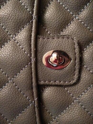 Eivormtas Twist Lock 4 Kleur Small Oval Handbags Case Alloy Catch Buckle DIY photo review