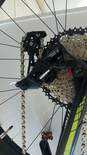SRAM  NX 11S Speed MTB Bicycle Rear Derailleur Long Cage Black