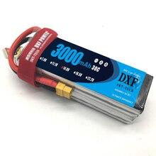 DXF Li Poly Battery 14 8V 3000mAh 4S 30C MAX 60C 1 10 RC Car Lipo
