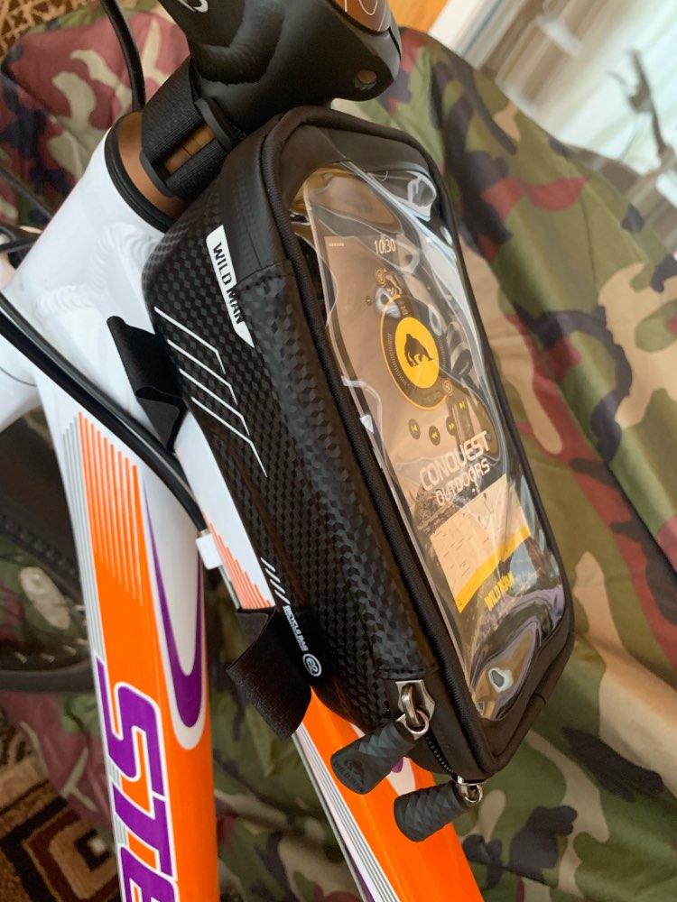 Cestos e bolsas p/ bicicleta telefone bicicleta selvagem