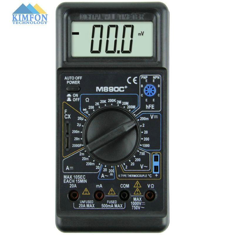 Voltage Symbols On Multimeter : Free dhl fedex pcs lot digital multimeter m c unit