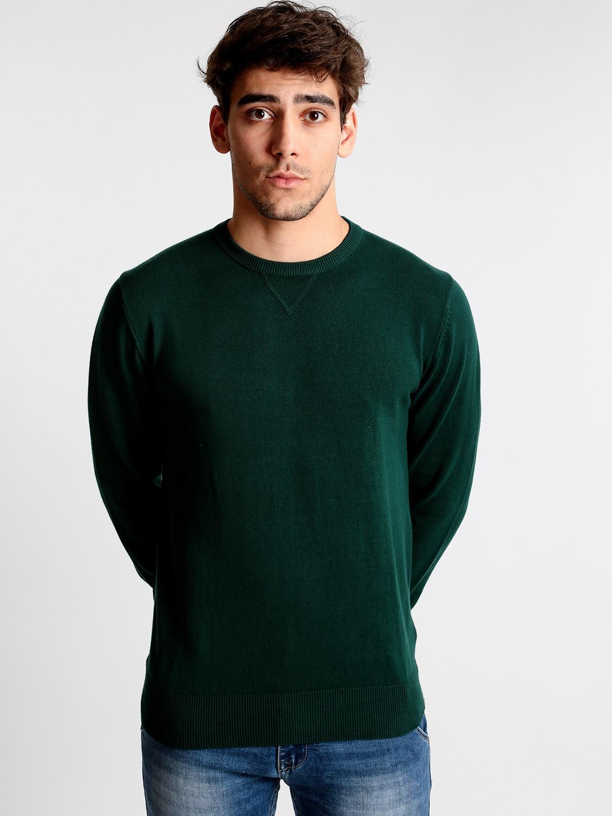 Round Neck Pullover Cotton