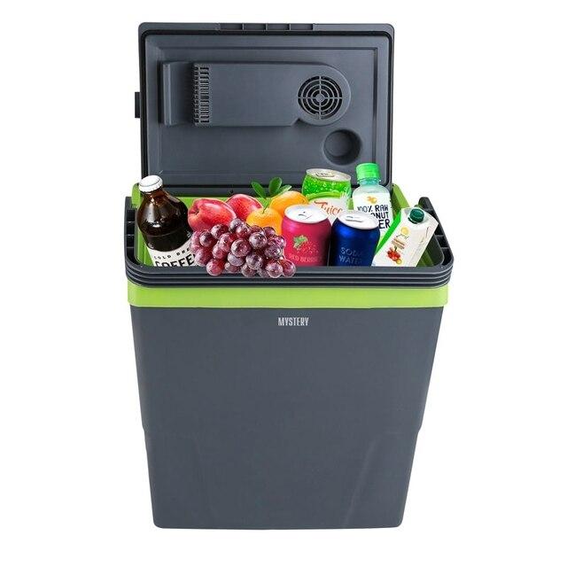 Холодильник автомобильный MYSTERY MTC-22 (Объем 22л, мощность 45Вт, работа от 12В, подогрев и охлаждение)