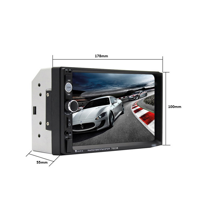 Player MP5 Car Short Bluetooth Player 7023B including Camera Car 7 Inch Display 1 Set in Interior Mouldings from Automobiles Motorcycles