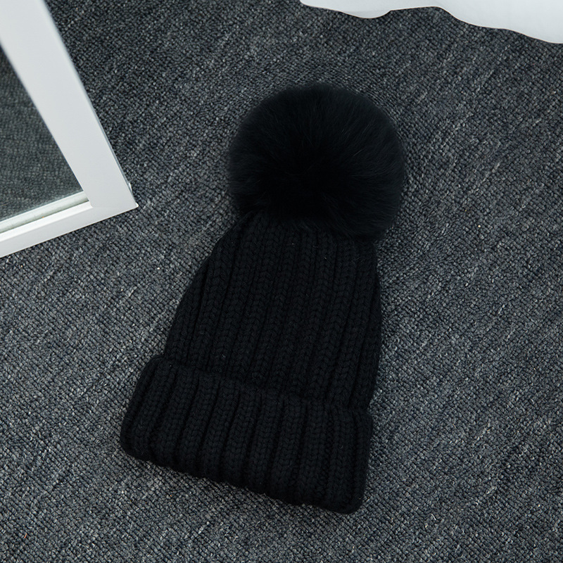 2017 New Women Winter Hats Real Mink Fur Pom Poms Hat Girls Cotton Knitted Skullies Beanies Caps Fur Pompom Hats Bonnet America автокресло britax roemer детское автокресло kidfix xp sict группа 2 3 от 15 до 36 кг flame red