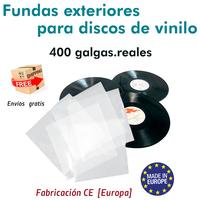 10 covers for vinyl records LP 400 gages REM [OFFER 76% DISCOUNT buying 200]
