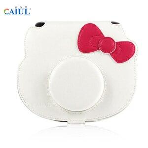 Image 5 - Fujifilm Instax Mini 8 Hello Kitty, ограниченная серия, фотопленка для мгновенной печати, камера + 10 листов котенка, пленки + наклейки + набор ремешков