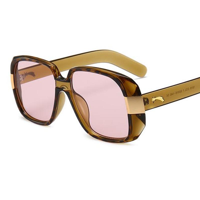 06656c0c12 Tortoiseshell Oversized Cruise Square Sunglasses Women Fashion 2018 Brand  New Driving Glasses Thick Frame Retro Sunglasses Male-in Sunglasses from  Apparel ...
