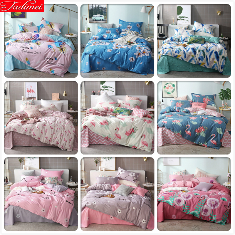 Bunnies Buses and Cars Print Boy/'s//Girl/'s Duvet Covers Set Blue King Queen Twin