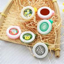 Anti Mosquitoes Bug Buckle Pest Repel Clip Insect Repellent Outdoors Baby Kids Protection Pest Control Supplies 5Pcs/Set