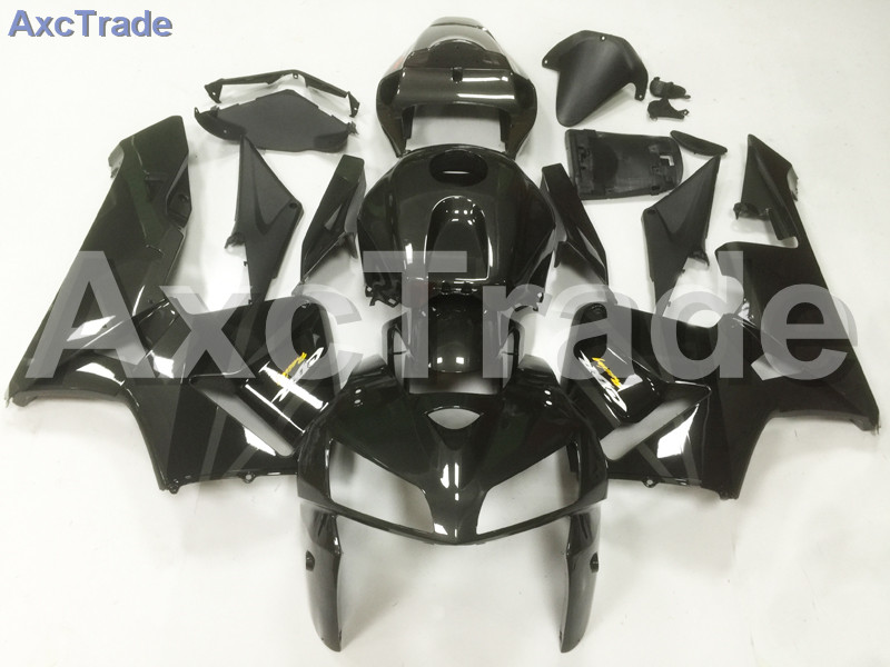 Motorcycle Fairings For Honda CBR600RR CBR600 CBR 600 RR 2005 2006 05 06 F5 ABS Plastic Injection Fairing Kit Bodywork Black A08 injection mold fairing for honda cbr1000rr cbr 1000 rr 2006 2007 cbr 1000rr 06 07 motorcycle fairings kit bodywork black paint