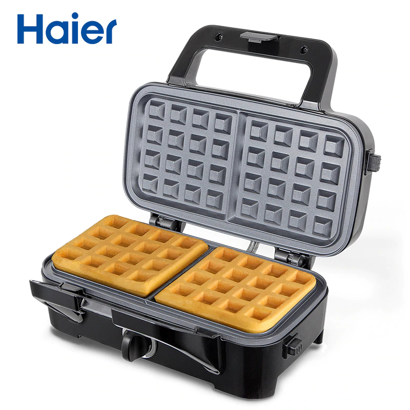 Waffle maker Haier HWM-114 electric square shape waffle maker commercial waffle baker plaid cake furnace machine heating machine fy 115