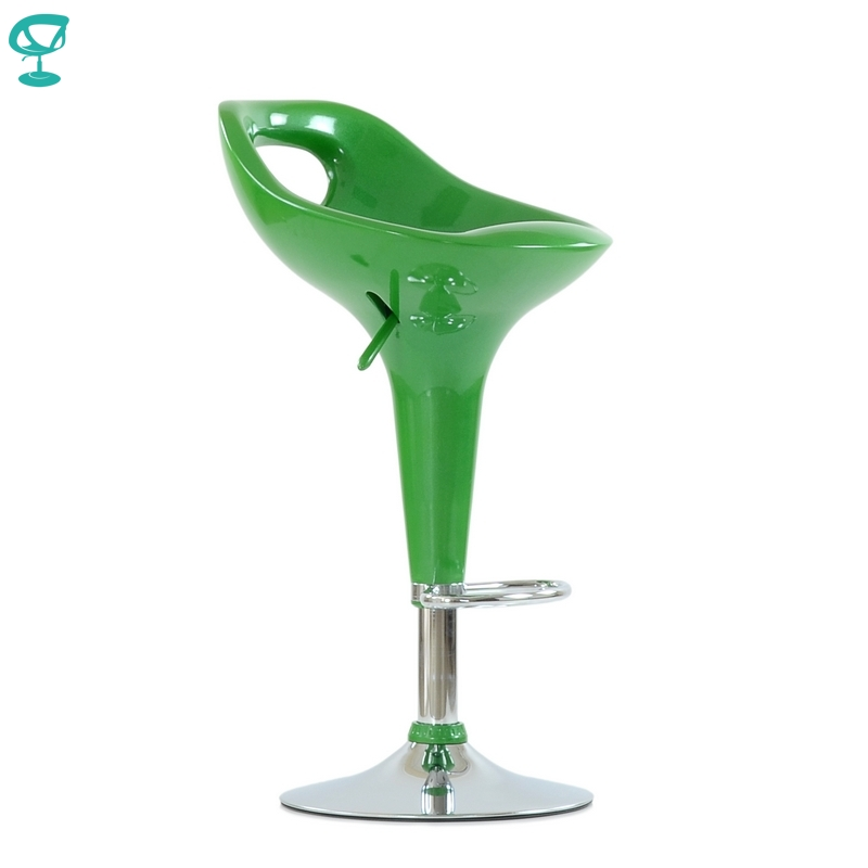 N7Green Barneo N-7 Plastic High Kitchen Breakfast Bar Stool Swivel Bar Chair Green Free Shipping In Russia