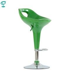 N7Green Barneo N-7 Plastica di Alta Cucina Bar per La Colazione Sgabello Girevole Sedia di un Bar Verde di trasporto libero in Russia