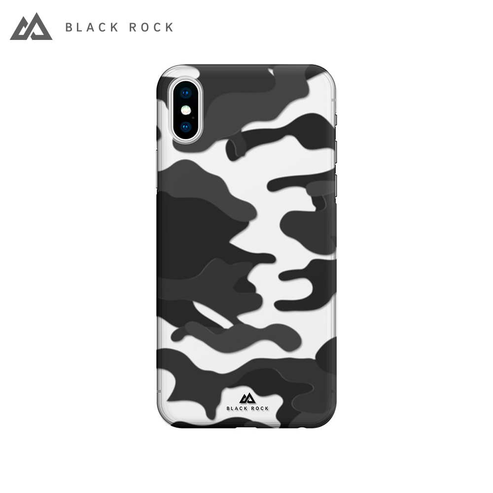 Case-pad Black Rock Camouflage Case for iPhone X S/X color black women s opal rhinestone zinc alloy pendant necklace white black multi color