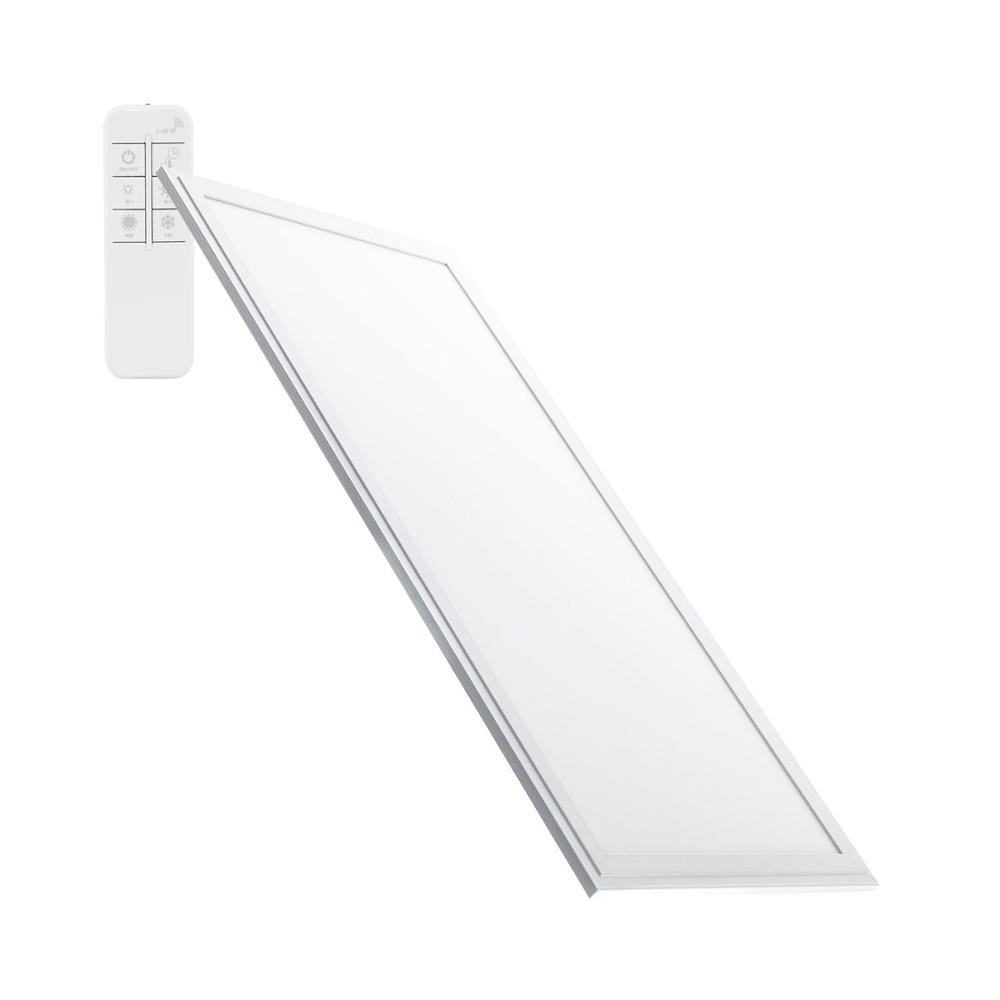 TECHBREY LED Panel Dimmable TemperaturaColor Selectable 60x30cm 32W 2700lm For Cealing Detachable With Driver Included