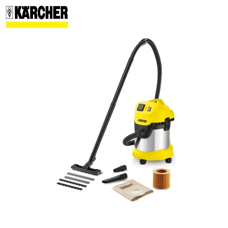 Vacuum cleaner KARCHER WD 3 P PREMIUM Home vacuum Bagless vacuum cleaner Hand vacuum cleaner Hoover