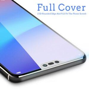 Image 3 - Ochraniacz ekranu HD szkło hartowane dla Huawei Y3 Y5 Y6 Y7 Y9 2018 Y5 Y6 2017 Y7 Prime Pro kolorowe folie ochronne