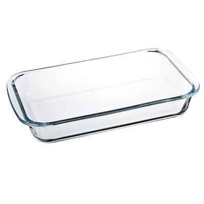 Form für backen glas 1.5l küche bar utensilien Besteck platten ofen braten kochen edelstahl pan platte glas 825 005,825 004 - 2