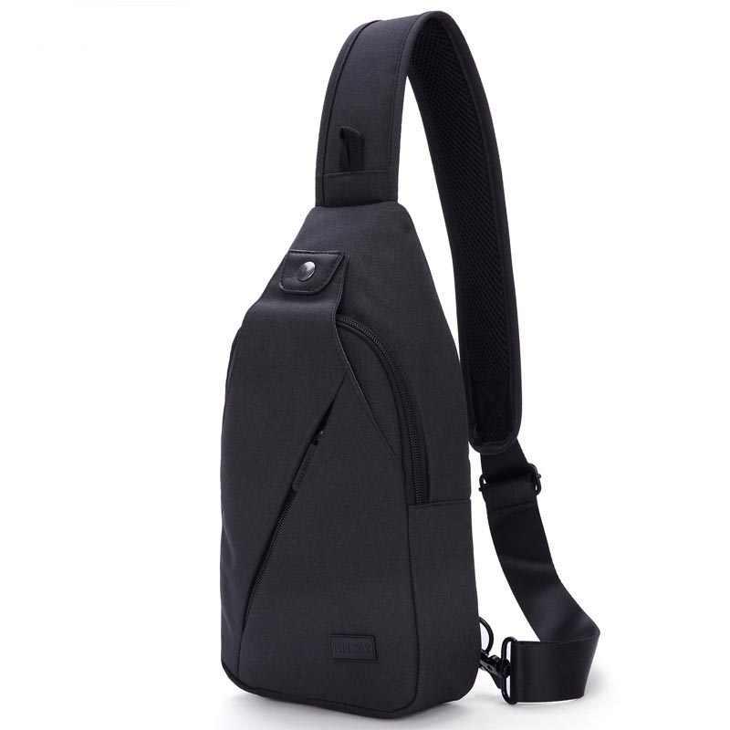 Protable saco peito masculino Dinheiro ultraleve crossbody saco da cintura saco de viagem homens bolsa de telefone
