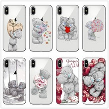 Tatty Teddy Me To You Bear TPU Phone Case Cover For iPhone X 8 7 6 6S Plus 11 11PRO MAX  SE Clear silicone XS Max