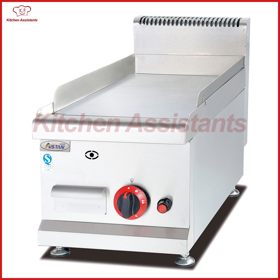 GH536 Gas Griddle(All Flat) of kitchen equipment gh776 gas griddle with cabinet all flat