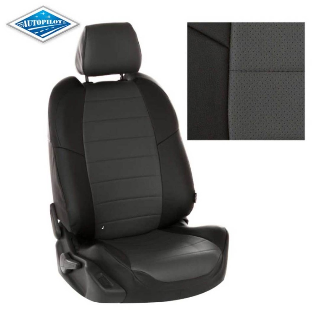 For Mitsubishi Outlander XL 2006-2012 special car seat covers full set Autopilot Eco-leather