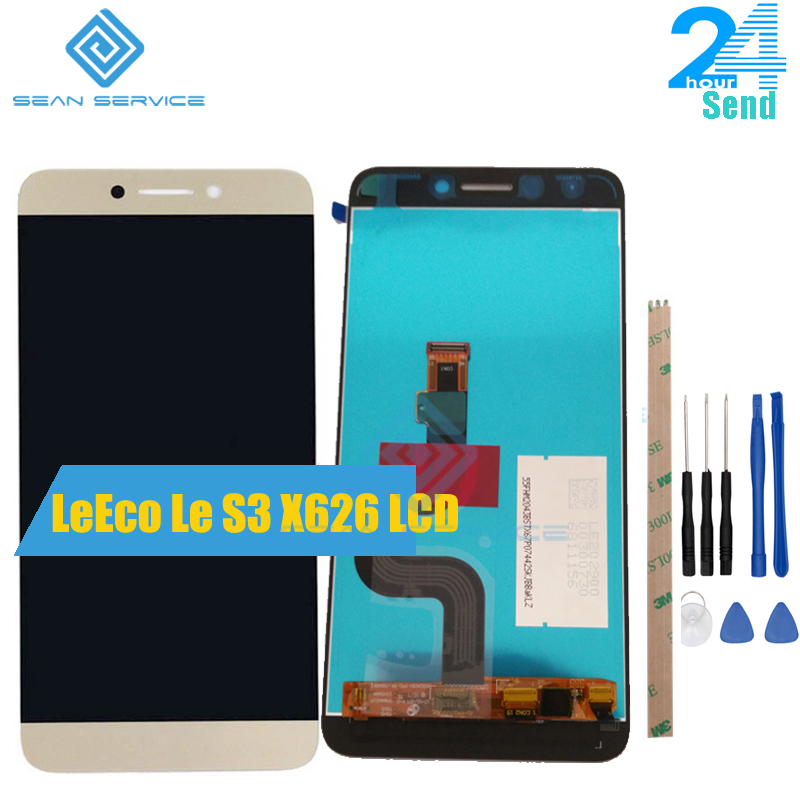 5.5 inch Original For Letv LeEco Le S3 X626 X622 X522 X532 LCD Display+Touch Screen Digitizer Assembly Replacement in stock  5.5 inch Original For Letv LeEco Le S3 X626 X622 X522 X532 LCD Display+Touch Screen Digitizer Assembly Replacement in stock