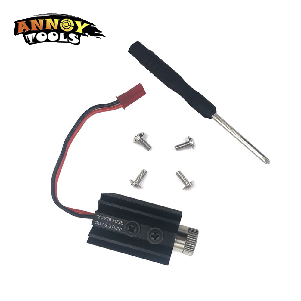 1000mW 1500MW 405nm Accesorio de grabador de módulo láser de cabeza - Piezas para maquinas de carpinteria - foto 2