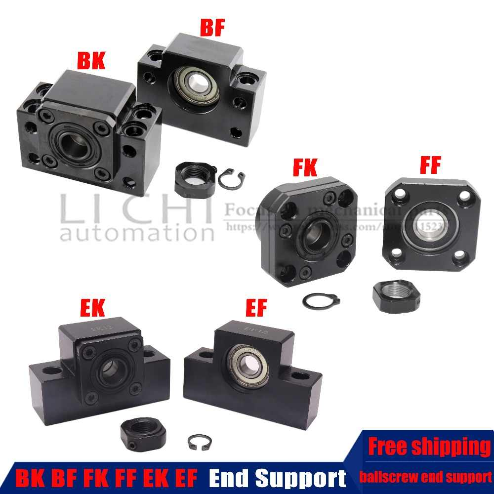 BK10 BF10 BK12 BF12 BK15 BF15 FK10 FF10 FK12 FF12 FK15 FF15 EK8 EK10 EF10 EK12 EF12 unità di supporto per vite a ricircolo di sfere SFU1605 SFU1204