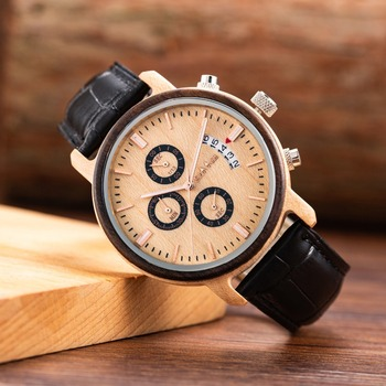 2018 Luxury Watches Fashion Wood Watch Men Analog Quartz Movement Date Handmade Wooden Watches Male Casual Wristwatches relogio